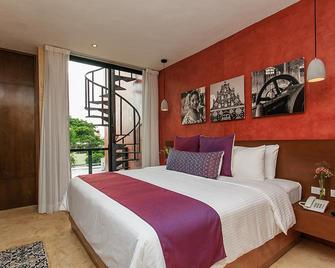 Casona 61 by GuruHotel - Mérida - Bedroom