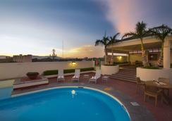 瓜達拉哈拉廣場博覽會酒店 - 瓜達拉哈拉 - 瓜達拉哈拉 - 游泳池