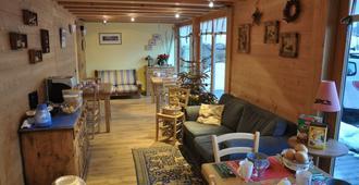 Bed & Breakfast l'Epicéa - Leysin - Sala de estar