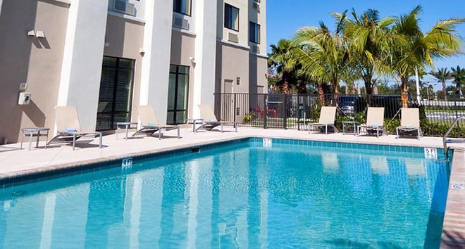 西棕櫚灘萬豪春丘酒店 - 西棕櫚海灘 - 西棕櫚海灘 - 游泳池