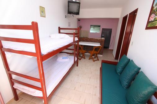 Pousada Gaivotas de Maranduba - Ubatuba - Bedroom