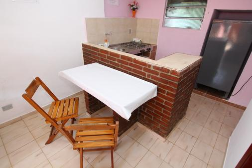 Pousada Gaivotas de Maranduba - Ubatuba - Kitchen