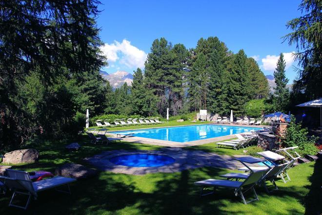 Hotel Saratz Pontresina - Pontresina - Pool