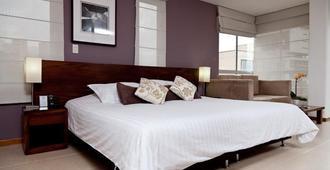 Cyan Suites - Medellín - Slaapkamer