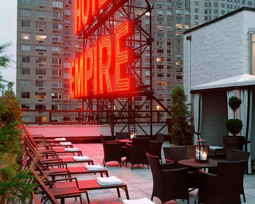 Empire Hotel - New York - Parveke