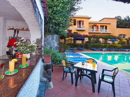 Hotel Cleopatra - Ischia - Bể bơi
