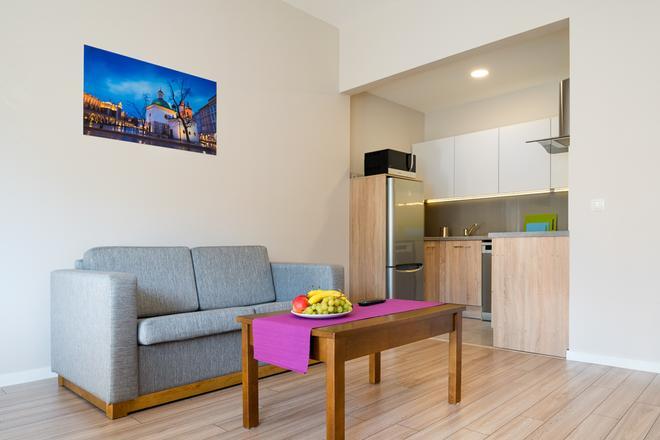 Emaus Apartments - Krakow - Living room