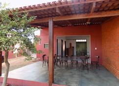 Hostel Casa do Guardião - Alto Paraíso de Goiás - Pátio