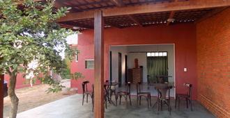 Hostel Casa do Guardião - Balindong - Patio