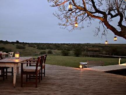 Hlosi Game Lodge - Paterson - Balcony