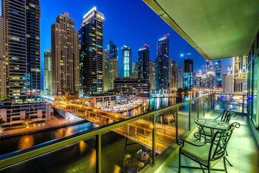 達瑪克麥遜皇家特色飯店 - 杜拜 - 陽台