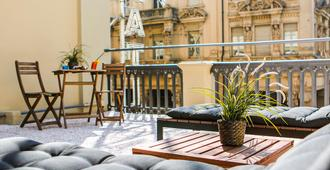 Hotel Diplomatic - Turín - Balcón