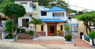 Hostal Techos Azules - Hostel - Taganga - Edificio