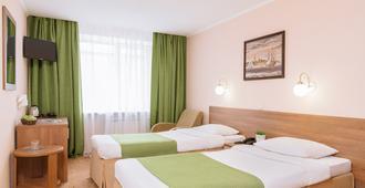 Hotel Polustrovo - Pietari - Makuuhuone