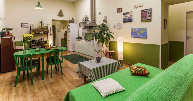 Peter Hostel - Saint Petersburg - Living room