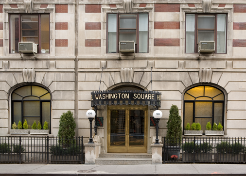 Washington Square Hotel - New York - Rakennus