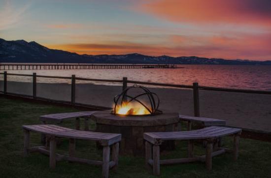 Tahoe Lakeshore Lodge & Spa - Саут-Лейк-Тахо - Патио