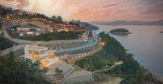Fin Morning Resort - Yeosu - Vista del exterior