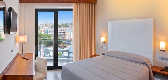 Hotel Boutique RH Portocristo - Peníscola - Schlafzimmer