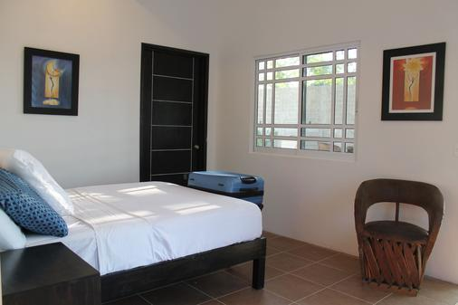 Playas Hotel - Puerto Escondido - Bedroom