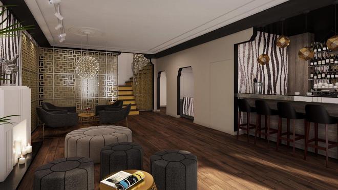 The L Hotel - Miami Beach - Living room