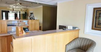 Colonial House Motor Inn - Perth - Front desk