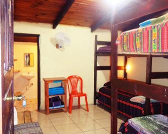 Hostal el Calvario - Coban - Bedroom