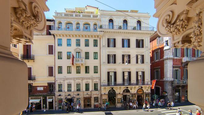 Hotel Regno - Ρώμη - Κτίριο