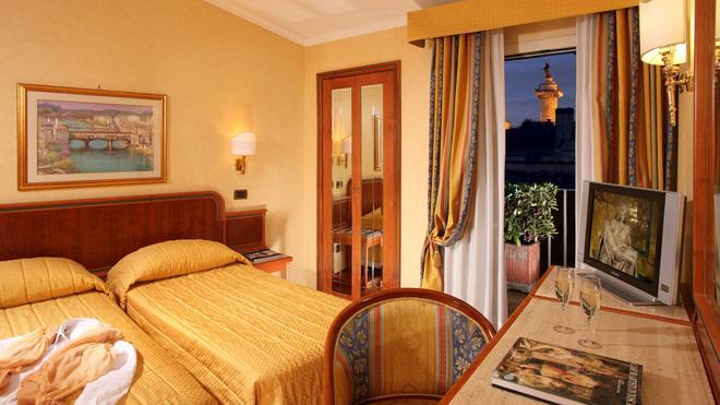 Hotel Regno - Ρώμη - Κρεβατοκάμαρα