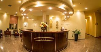 Hotel Alinalex - Paradisul Acvatic - בראסוב - דלפק קבלה