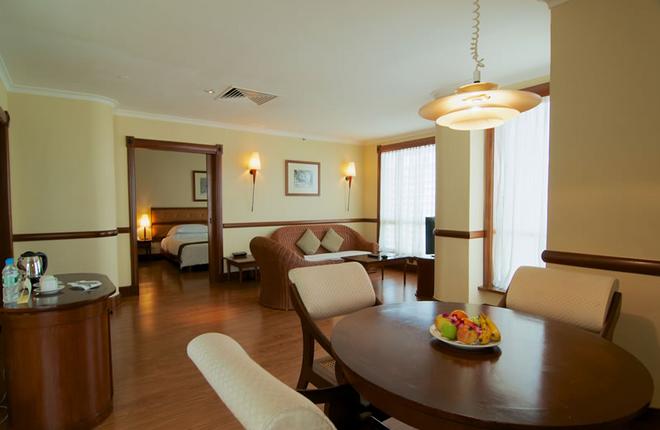 檳城諾瑟姆全套房酒店 - 喬治市 - 客廳