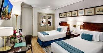 Sercotel Gran Hotel Conde Duque - מדריד - חדר שינה