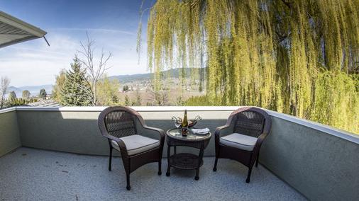 E'Laysa Guesthouse and Vineyard Retreat - Penticton - Balcony