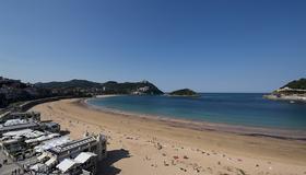 Hotel Niza - San Sebastian - Strand