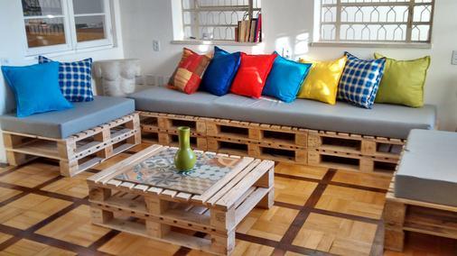 Solar63 Hostel - Porto Alegre - Sala de estar