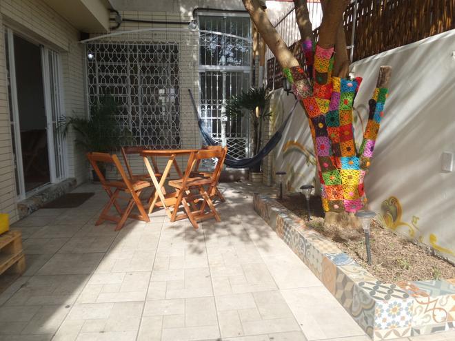 Solar63 Hostel - Porto Alegre - Patio