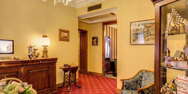 Hotel Oceania - Rome - Hallway