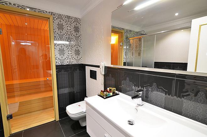 Azka Hotel - Bodrum - Phòng tắm