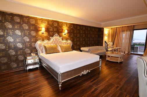Azka Hotel - Bodrum - Yatak Odası
