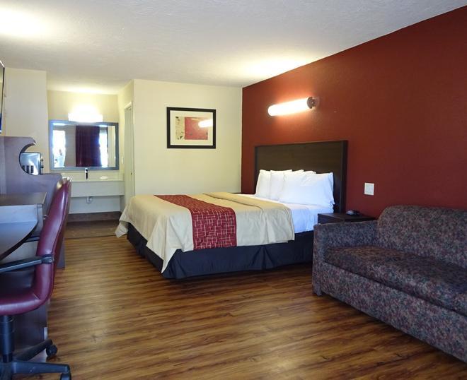 Red Roof Inn Starkville - University - Starkville - Bedroom