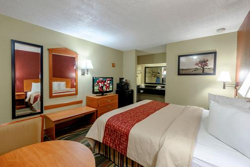 Red Roof Inn Chattanooga - Lookout Mountain - Chattanooga - Bedroom