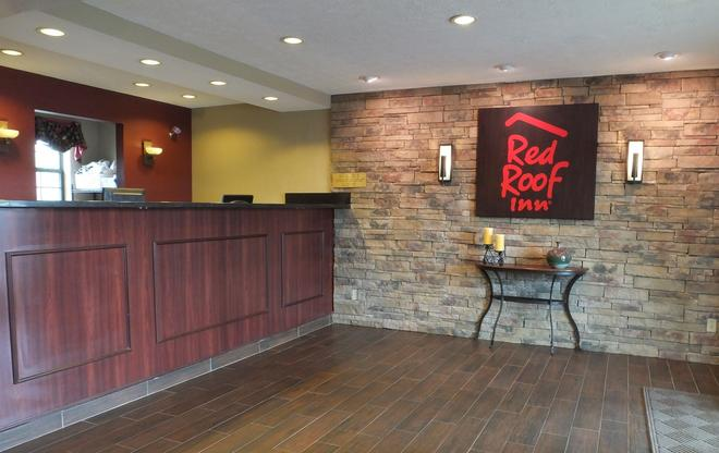 Red Roof Inn Cookeville - Tennessee Tech - Cookeville - Ρεσεψιόν