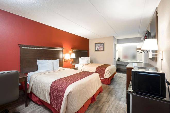 Red Roof Inn Jackson Downtown - Fairgrounds - Jackson - Bedroom