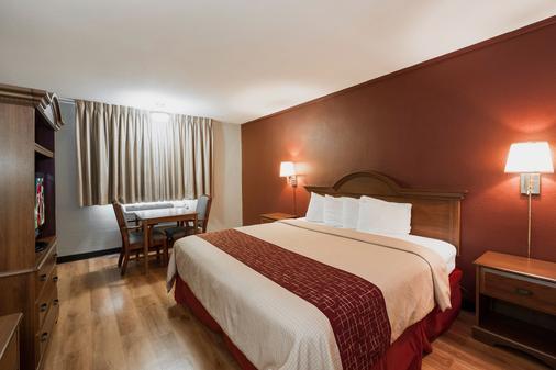 子午線紅屋頂酒店 - 美里迪安 - 梅里迪恩 - 臥室