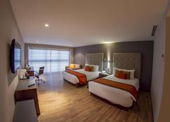 艾爾迪普羅馬提科酒店 - 墨西哥城 - 墨西哥城 - 臥室