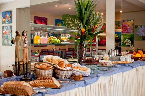 Hotel Geranius Praia dos Ingleses - Florianópolis - Ruoka