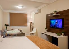 Hotel Geranius Praia dos Ingleses - Florianópolis - Quarto
