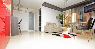 Monterosa Apartamentos Amoblados - Pereira - Phòng khách