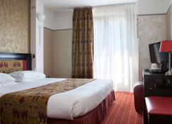 Hotel Eiffel Seine - Parijs - Slaapkamer