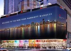 New York Marriott Marquis - New York - Rakennus
